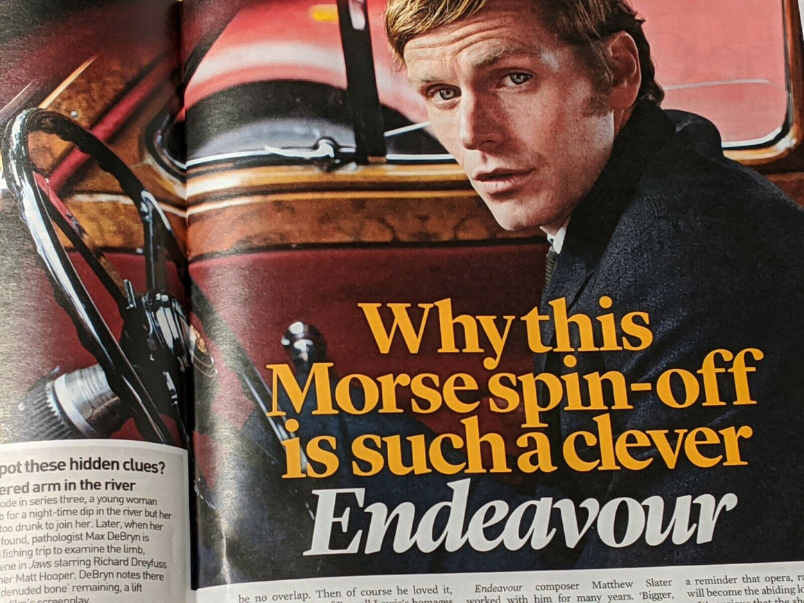 UK Event Magazine Feb 2020: SHAUN EVANS Endeavour TOM WALKER Daniel Radcliffe