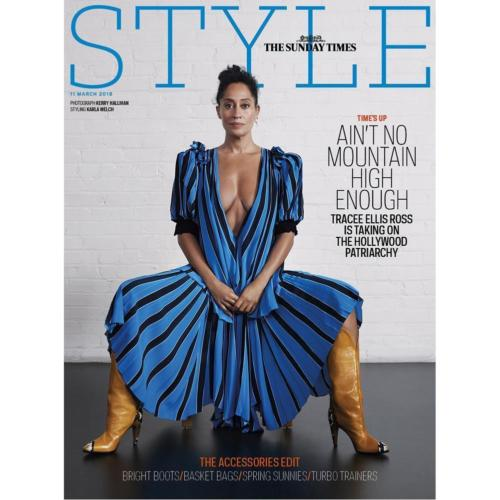 UK Style Magazine March 2018: TRACEE ELLIS ROSS COVER & FEATURE