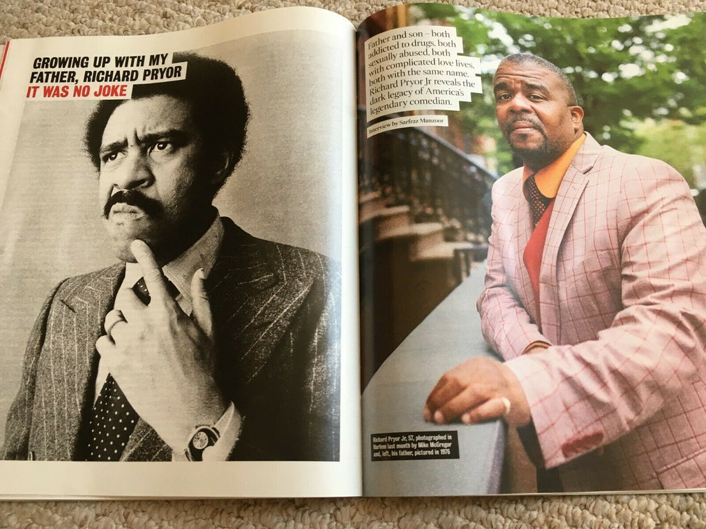THE TIMES magazine 29 June 2019 - Life With Richard Pryor Interview - Tan France