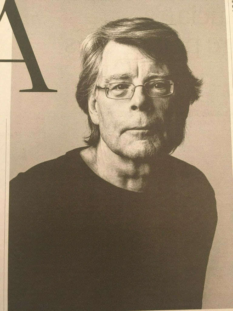 OBSERVER NEW REVIEW 8 September 2019 STEPHEN KING interview - Lucian Freud