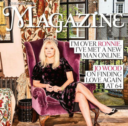 TIMES magazine 26 October 2019 JO WOOD (Ronnie) THE ROLLING STONES Jeff Goldblum