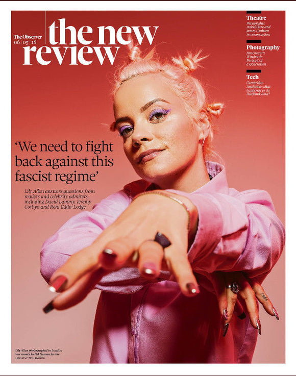 UK New Review May 2018: LILY ALLEN Nick Offerman Lenor Serraille Laetitia Dosch