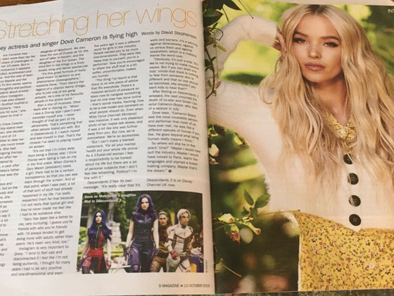 S EXPRESS Magazine 10/2019 DOVE CAMERON Denise Pearson ABBEY CLANCY Melvyn Hayes