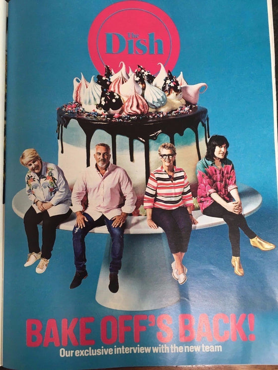 UK Sunday Times magazine 6th August 2017 Noel Fielding Mighty Boosh Jamie Oliver