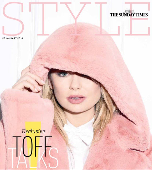 Georgia Toffolo UK PHOTO COVER INTERVIEW STYLE Magazine January 2018