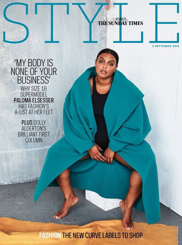 UK Style Magazine September 2018: PALOMA ELSESSER COVER STORY
