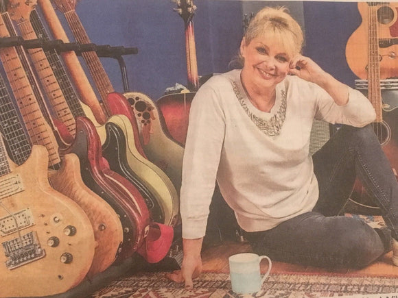 UK Sunday Times Money May 6th 2018 Cheryl Baker Bucks Fizz Interview