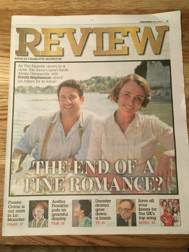 The Durrells KEELEY HAWES Alexis Georgoulis PHOTO COVER INTERVIEW May 2019