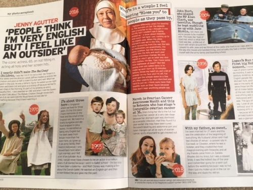 UK Notebook Magazine February 2018 JENNY AGUTTER Suranne Jones MICHAEL YORK