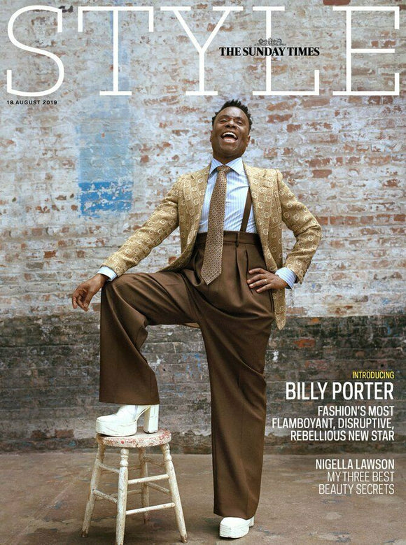UK Style magazine 18 Aug 2019: Billy Porter (Pose) Cover And Interview
