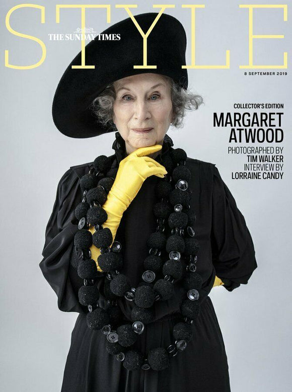 UK Margaret Atwood UK Style Magazine Collectors Edition September 2019