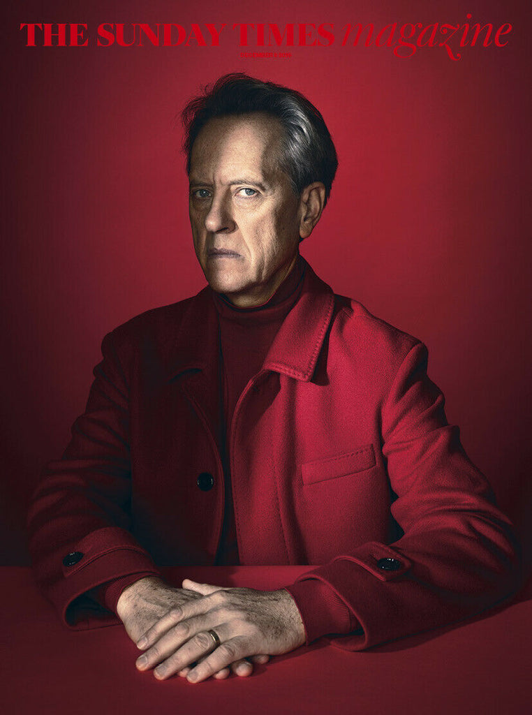 RICHARD E GRANT - SUNDAY TIMES MAGAZINE DEC 2019 BRITISH EDITION NEW (STAR WARS)