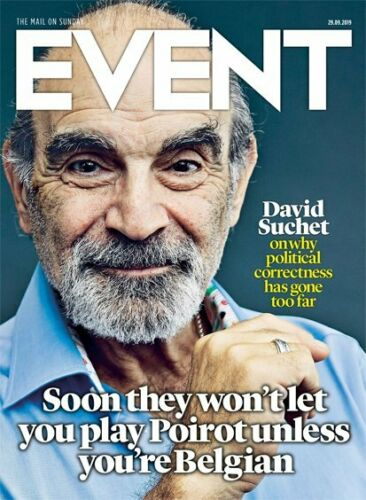 UK EVENT Magazine Sept 2019: DAVID SUCHET Michael Hutchence JASON HUGHES INXS