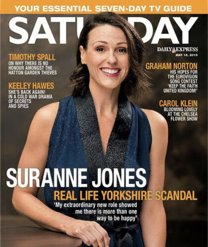 Suranne Jones Saturday Magazine UK Interview Cover Gentlemen Jack - Phil Cool