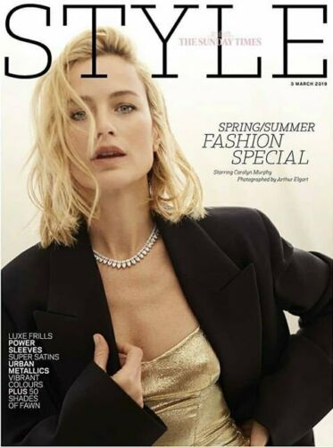 UK STYLE Magazine MARCH 2019: CAROLYN MURPHY COVER FEATURE