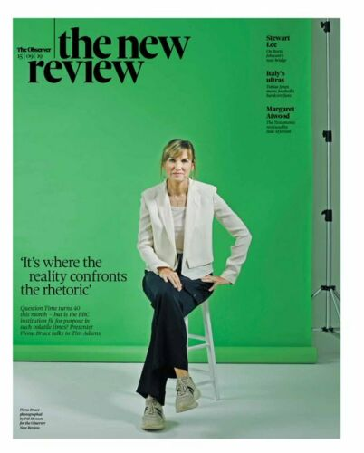 UK OBSERVER NEW REVIEW Sept 2019: FIONA BRUCE Paul McCartney JOYCE DIDONATO
