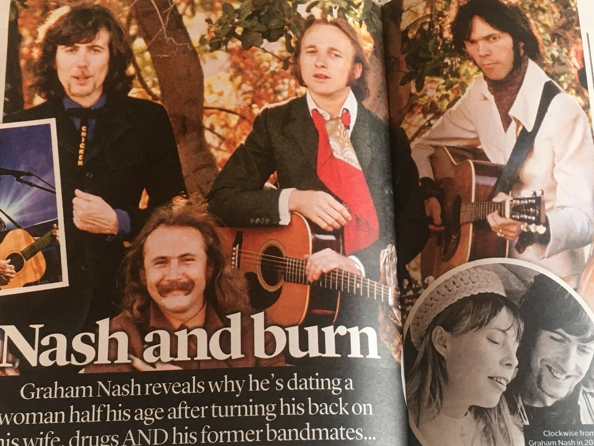 EVENT magazine July 2018: Graham Nash (Crosby, Stills & Nash) Tuppence Middleton