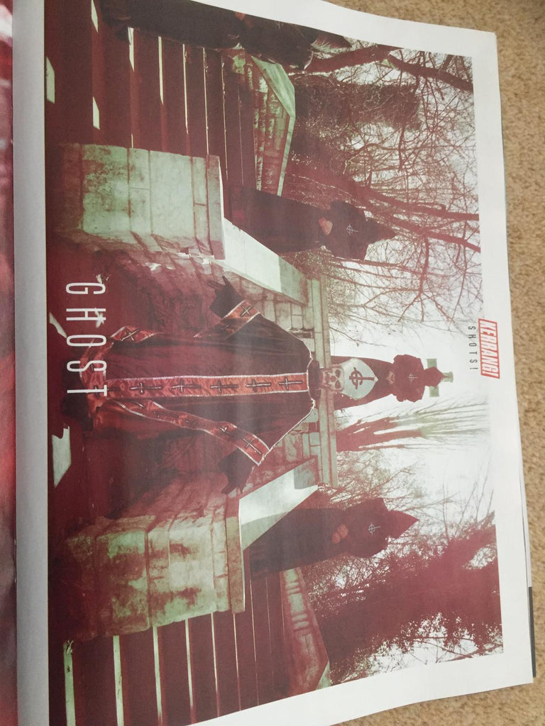 Ghost Exclusive Pull Out Magazine - 10 Poster Special Inside UK Kerrang! Magazine May 2019