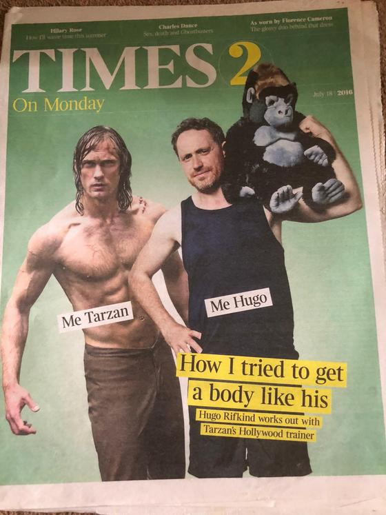 Times 2 Supplement July 18 2016 Alexander Skarsgard Cover