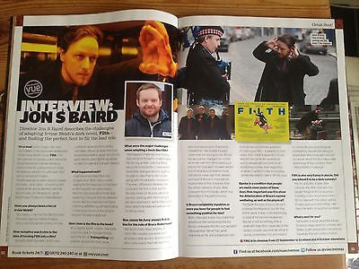 STEPHEN KING interview JAMES MCAVOY UK VUE ISSUE 2013 VIN DIESEL CHRIS HEMSWORTH