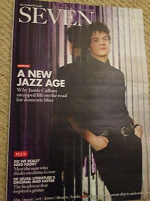 JAMIE CULLUM PHOTO COVER INTERVIEW UK MAGAZINE MAY 2013 NEW DR SEUSS CONSIDINE