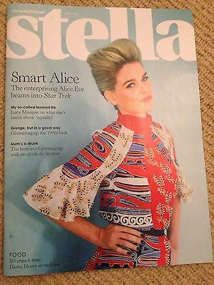 ALICE EVE PHOTO COVER INTERVIEW UK MAGAZINE MAY 2013 NEW STAR TREK