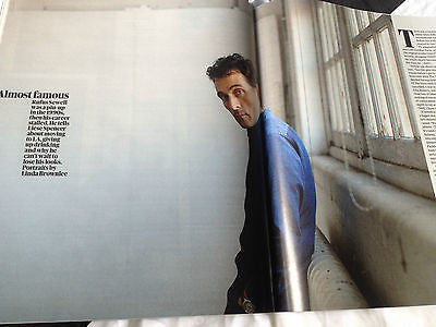 NEW Guardian Magazine RUFUS SEWELL MATT SMITH CATHERINE DENEUVE LINDA GRAY
