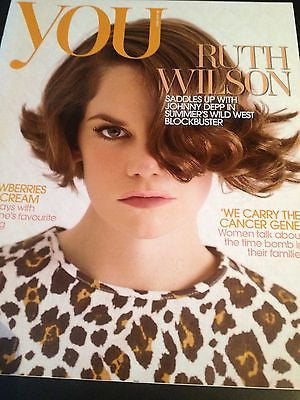 RUTH WILSON interview JOHNNY DEPP BRAND NEW UK 1 DAY ISSUE JULIANNE MOORE