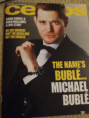 UK CELEBS Magazine MICHAEL BUBLE Maurice Gibb LULU Jessie Ware GEORGIA MAY FOOTE