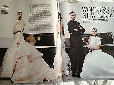 New FT MAGAZINE MARCH 16 2013 RAF SIMONS MASSIMILIANO GIORNETTI ANTONIO BERADI
