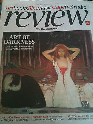 TELEGRAPH REVIEW - EDVARD MUNCH THE DEXYS Michael Frayn Polica JACK LEMMON