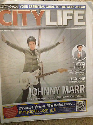 CITY LIFE MARCH 2013 JOHNNY MARR THE SMITHS RAE MORRIS