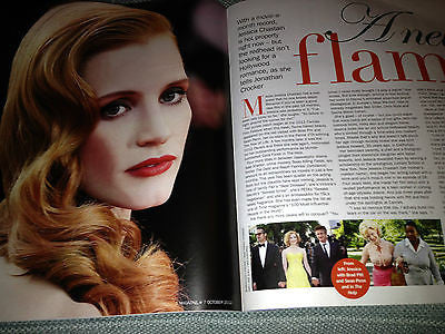 NEW S MAGAZINE = JESSICA CHASTAIN DAMIAN LEWIS DON MCLEAN TRACY ANN OBERMAN