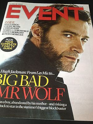 HUGH JACKMAN interview X-MEN BEEFCAKE UK 1DAY ISSUE ANGELA THORNE MATTHEW GOODE