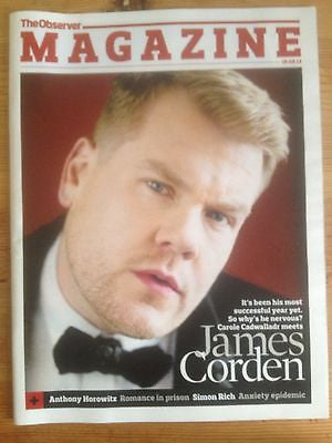 JAMES CORDEN interview ALEX TURNER UK 1 DAY ISSUE BRAND NEW SOPHIE ELLIS BEXTOR