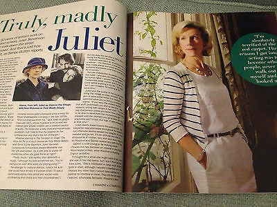 NEW S Mag JULIET STEVENSON LIONEL BLAIR KIMBERLY WYATT ALAN RICKMAN DAISY WAUGH