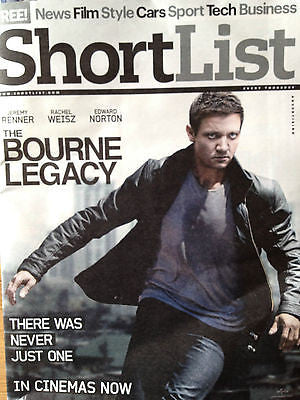 *** NEW UK !! JEREMY RENNER cover THE BOURNE LEGACY COLIN FARRELL TOTAL RECALL *