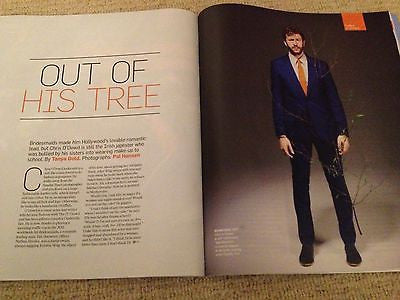 CHRIS O'DOWD interview BRIDESMAIDS HUNK UK 1 DAY ISSUE BRAND NEW JUNE 2013 MUSE