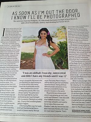 VANESSA HUDGENS interview PSY GANGHAM STYLE BRAND NEW UK 1 DAY ISSUE JULY 2013