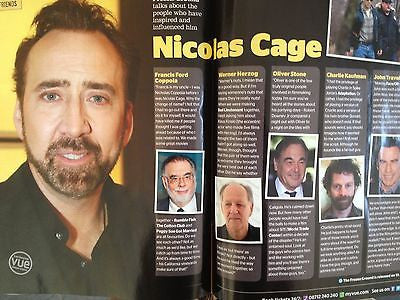 HUGH JACKMAN interview WOLVERINE UK ISSUE JOHN CUSACK NICOLAS CAGE DERREN BROWN