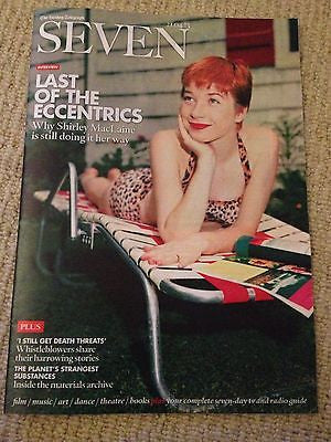 New SEVEN Magazine SHIRLEY MACLAINE BEN KINGSLEY PIERCE BROSNAN JAIME MURRAY