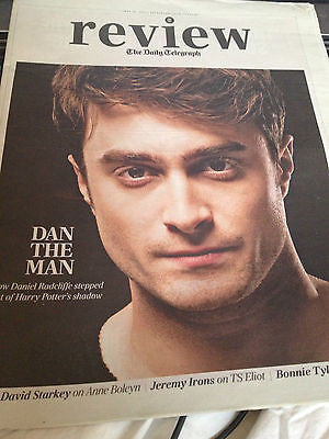 *** NEW UK !! DANIEL RADCLIFFE inter/w JEREMY IRONS BONNIE TYLER daft punk ***