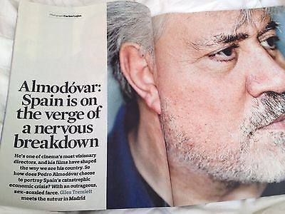 PEDRO ALMODOVAR interview UKmag 2013 MICHAEL SANDEL TERRY DE HAVILLAND
