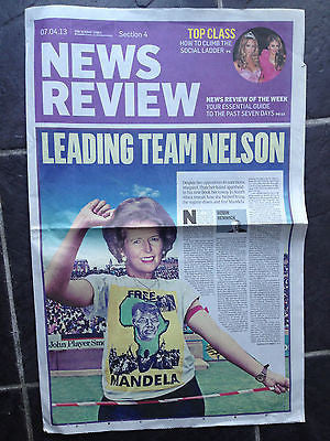 Sunday Times News Review April 2013 MARGARET THATCHER MAGNUS CARLSEN BRIAN COX