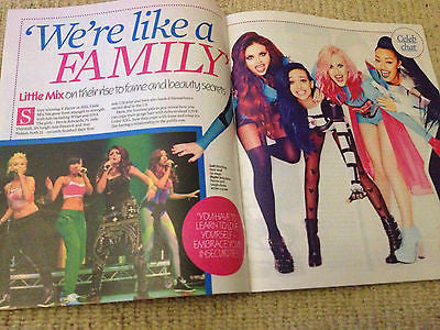 New Celebrity Magazine LITTLE MIX Jesy Perrie Jade Jessie J LOUIS SMITH
