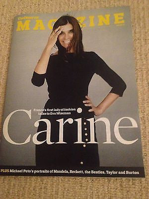 Observer Magazine Sept 2013 Carine Roitfeld interview THE BEATLES RICHARD BURTON