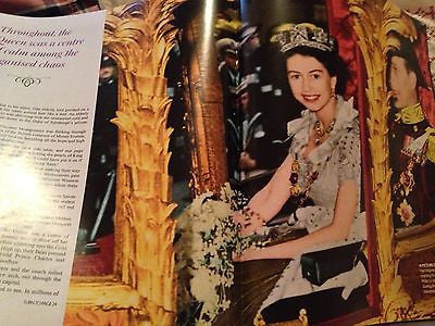 QUEEN ELIZABETH II CORONATION 60 YEARS ON DAILY MAIL SOUVENIR PICTURE MAGAZINE