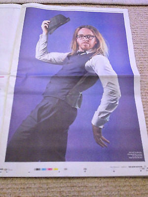 Observer New Review - Sept 2013 TIM MINCHIN THE BEATLES JESSIE J FLEETWOOD MAC