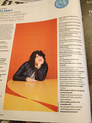 Guardian Weekend Magazine 29 Dec 2012 MARIE OSMOND EL JAMES 50 SHADES OF GREY