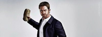 *** NEW UK !! GERARD BUTLER inter/w SCOTTISH HUNK James Sallis SHORTLIST ****